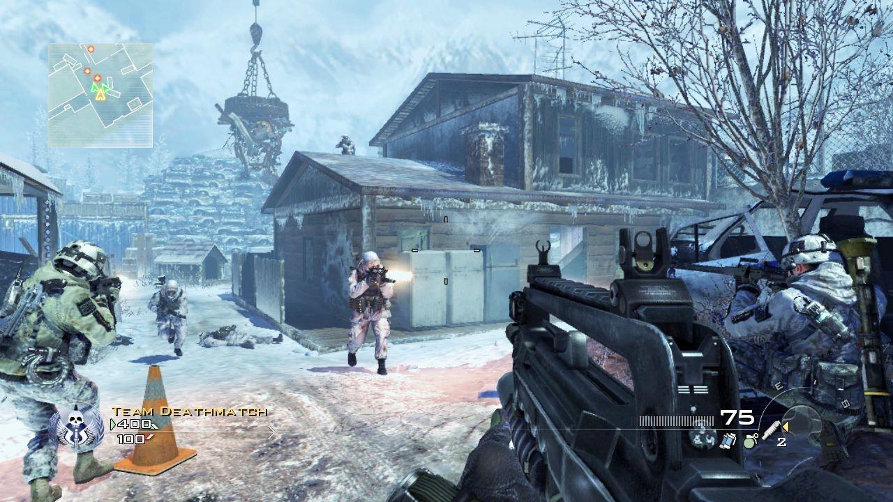 Скачать Call of Duty: Modern Warfare 2 торрент бесплатно на PC