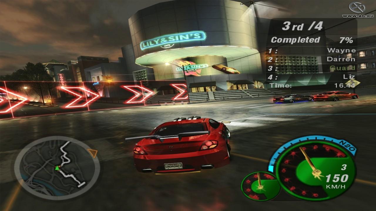 Скачать Need For Speed: Underground 2 торрент бесплатно на PC