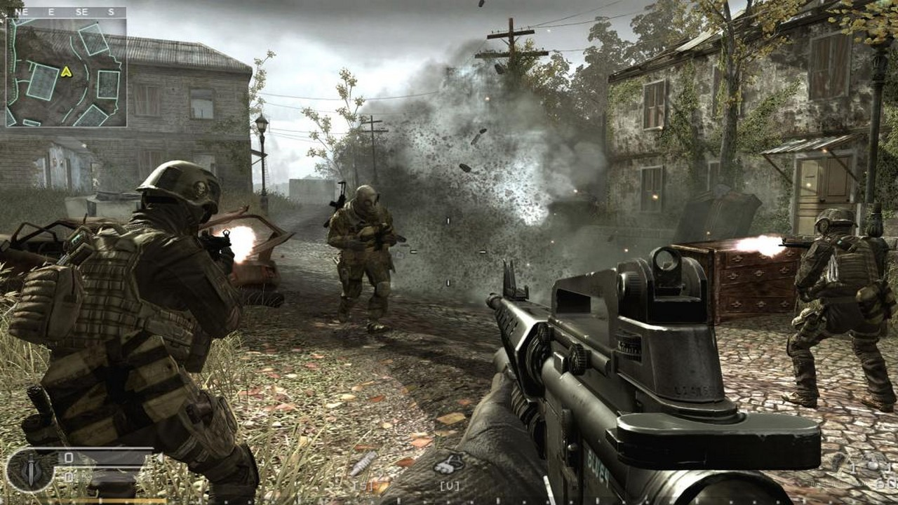 Скачать call of duty 4: modern warfare (2007) через торрент.