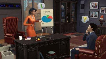 Sims 4 Get to Work (Симс 4 На работу) скачать торрент