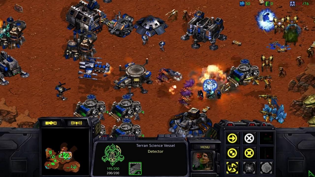 StarCraft Remastered скачать торрент на ПК Механики