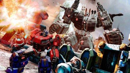 Transformers: Fall Of Cybertron скачать торрент
