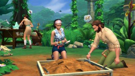 Симс 4 Приключения в джунглях скачать торрент