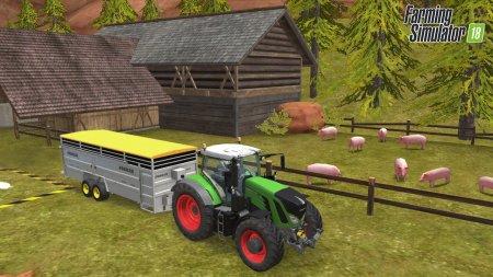 Farming Simulator 2018 скачать торрент