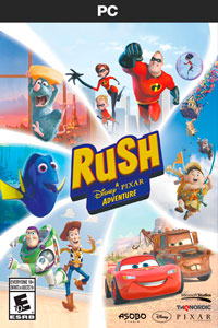 Rush A Disney Pixar Adventure скачать торрент