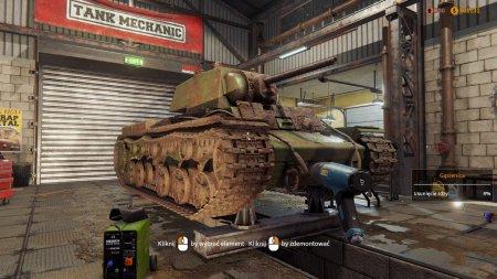 Tank Mechanic Simulator скачать торрент