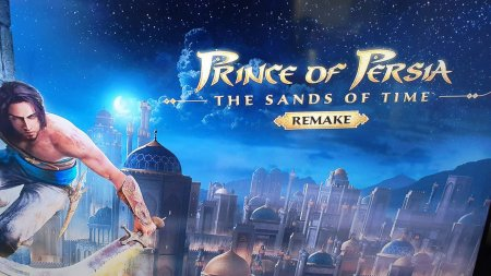 Prince of Persia: The Sands of Time Remake скачать торрент