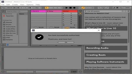 Ableton Live 10 Suite скачать торрент