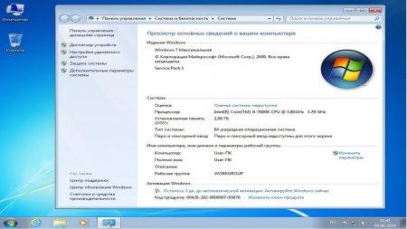 Windows 7 Чистая 64 bit скачать торрент