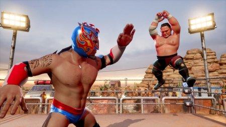 WWE 2K Battlegrounds скачать торрент
