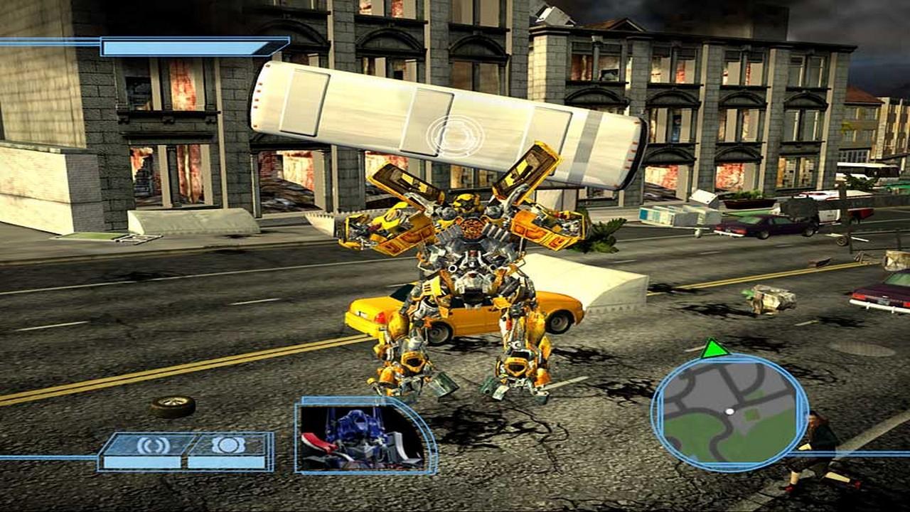 Трансформеры скачать игра 2007