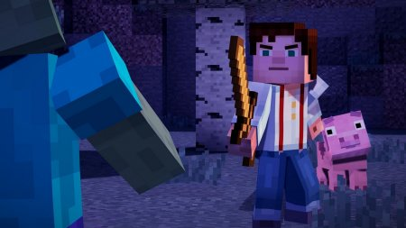 Minecraft Story Mode Episode 1-7
