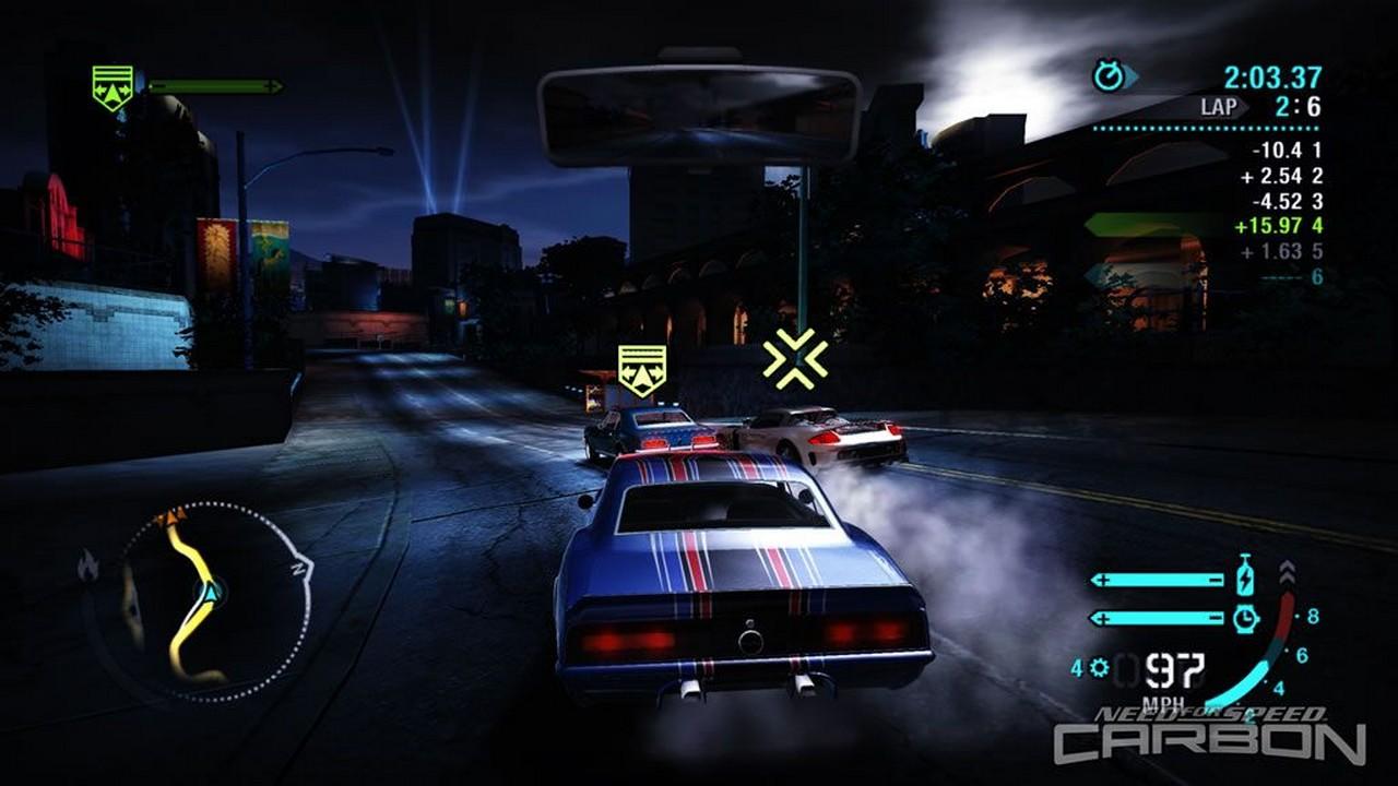 Скачать игру need for speed:carbon на компьютер. Нфс карбон.